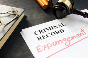 criminal records being expunged